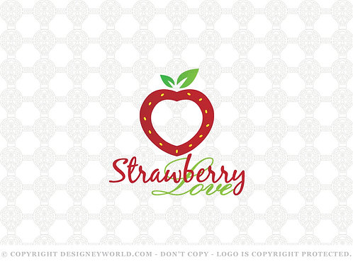 Strawberry Love Logo