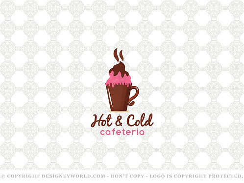 Hot and Cold Cafe Logo