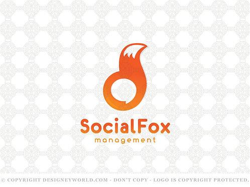 Social Fox Logo
