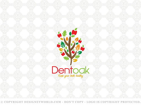 Dent Oak Tree Logo