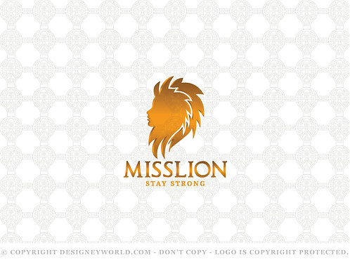 Miss Lion Logo