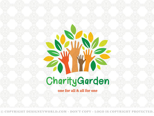 Charity Garden Logo