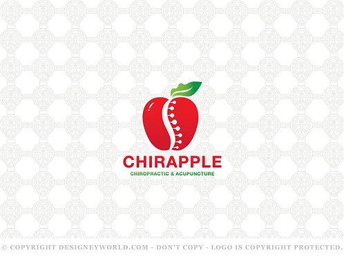 Chiropractic Healthy Apple Logo