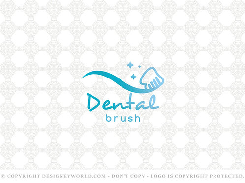 Dental Brush Logo