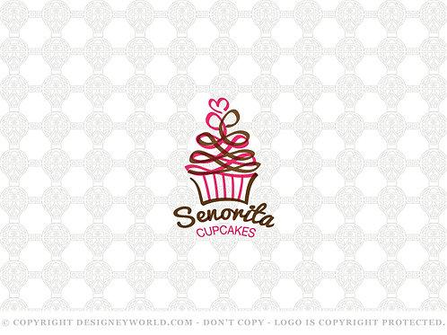 Senorita Love Cupcakes Logo