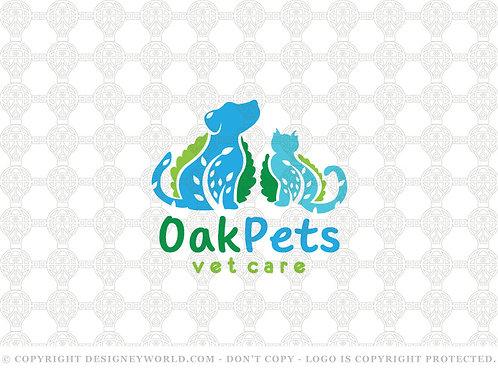 Oak Pets Vet Care Logo