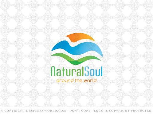 Natural Soul Travel Logo