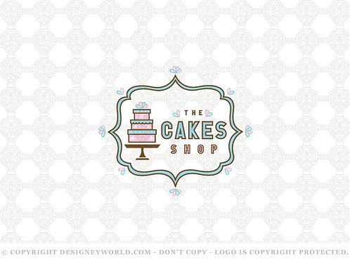 The Cakes Shop Logo