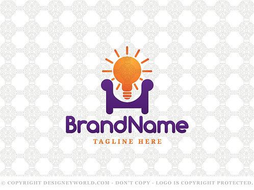 Idea Home Interior Design Logo