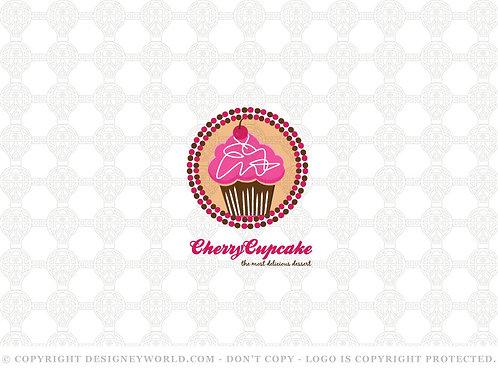 Cherry Cupcake Logo