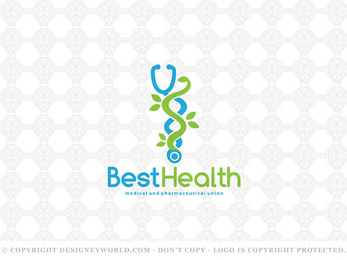 Best Health and Pharmacy Logo