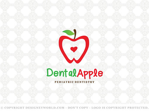 Dental Apple Logo