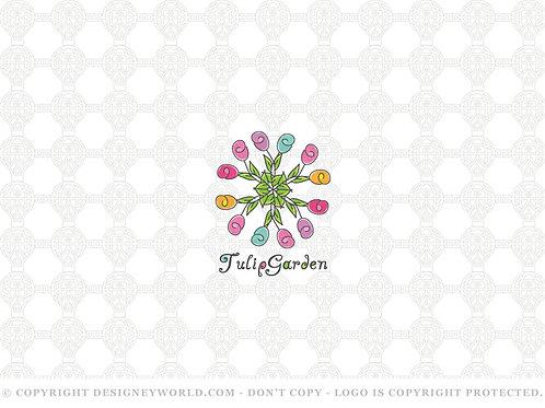 Tulip Garden Logo