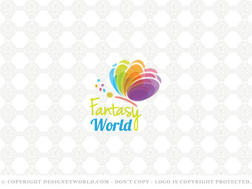Fantasy World Logo