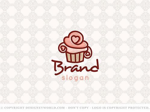 Love Cupcakes Bakery Logo
