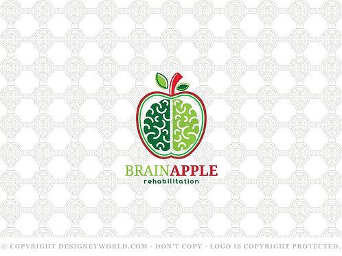 Brain Apple Rehabilitation Logo