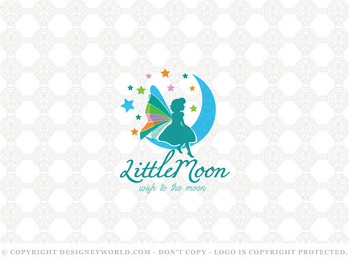 Little Moon Kid Logo