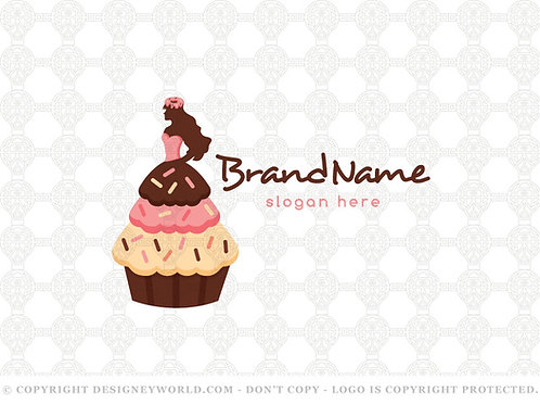 Princess Cupcakes And Donuts Logo