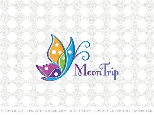 Trip Butterfly Logo