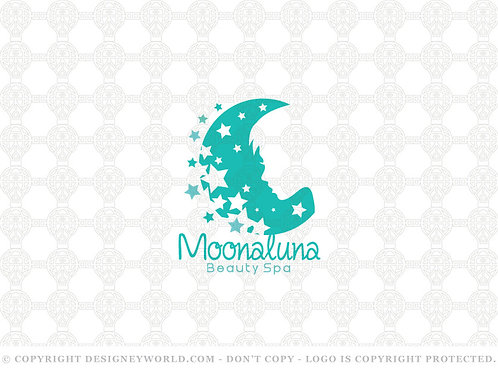 Moon Luna Beauty Logo