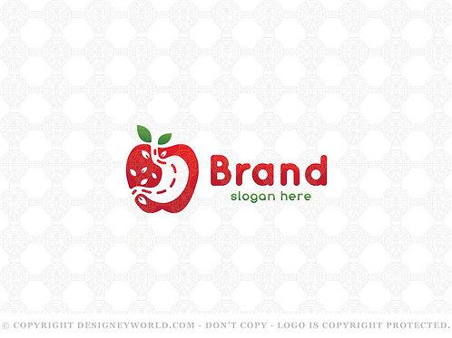 Healthy Diet Apple Logo