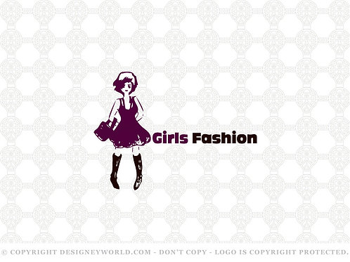 Girls Fashion Logo