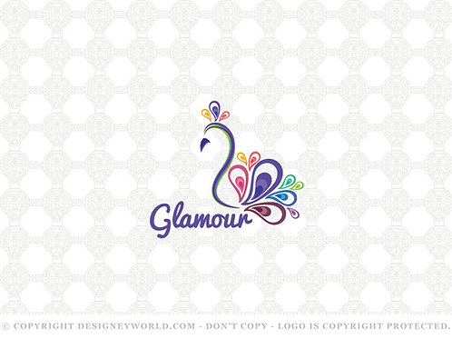 Glamour Peacock Logo