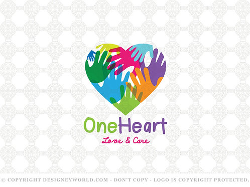 One Heart Love and Care