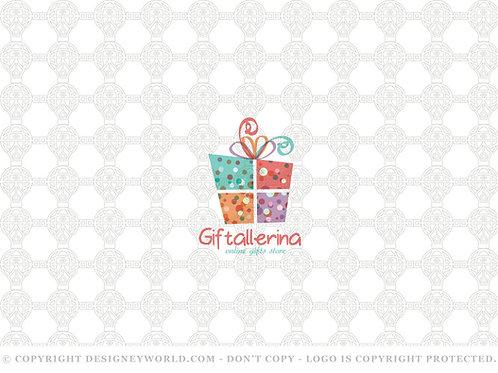 Giftallerina Gifts Store Logo