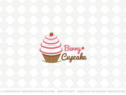 Berry Cupcake Logo