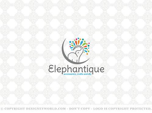 Elephantique Logo