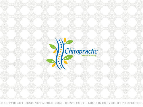 Chiropractic Natural Healing and Care Logo