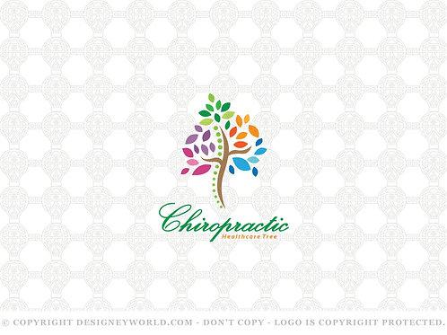 Chiropractic Tree Logo