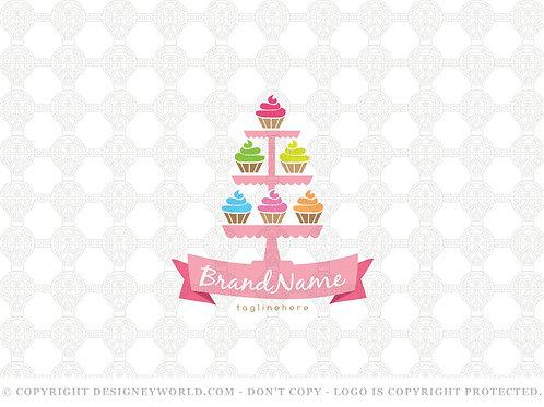 Sweet Cupcakes Logo