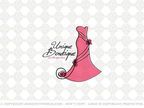 Unique Dress Boutique Logo
