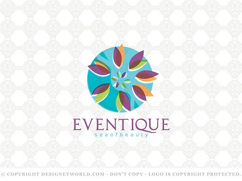 Eventique Sea Logo