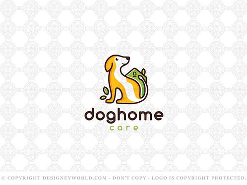 Dog Home Natural Care Logo