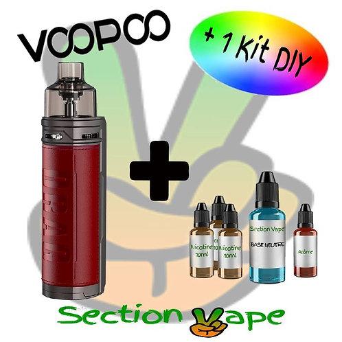 Kit Pod Voopoo Drag X Marsala + 1 kit DIY