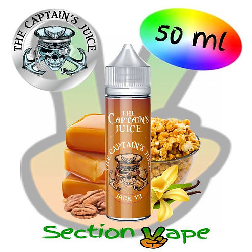 E-liquide Captain's Juice, Jack V2,  50ml, 0mg