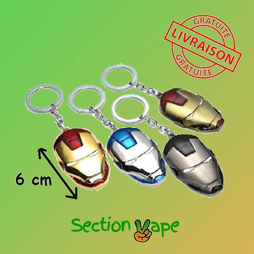 Porte clés Marvel Avengers Métal, Iron Man & War Machine