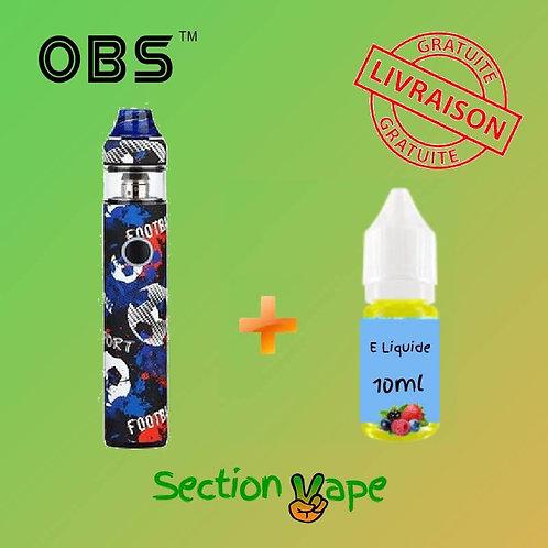 Kit OBS KFB 2 Soccer + 1 liquide 10ml