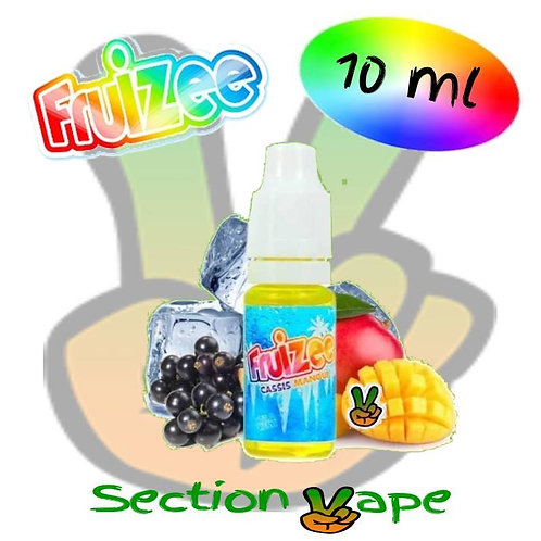 E liquide 10ml fruizee Cassis / Mangue