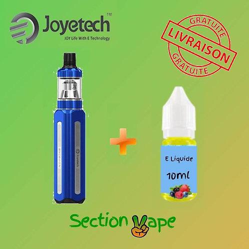 Joyetech exceed x 1000 mah bleu + 1 liquide 10ml