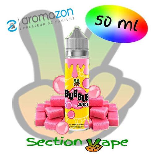 E liquide Bubble Juice Aromazon, 50ml,
