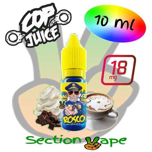 Booster de nicotine Cop Juice, Rosco, 18mg, 10ml