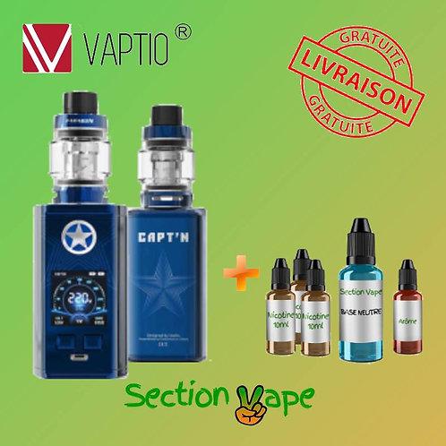 kit Capt'n vaptio bleu + 1 Kit DIY