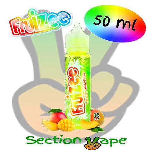 E liquide Fruizee 50ml Crazy mango no fresh, 0mg