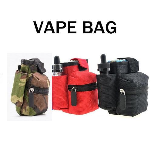 Sacoche de transport pour materiel et e cigarette