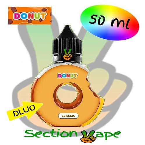 E liquide donut Classic 50ml, 0mg
