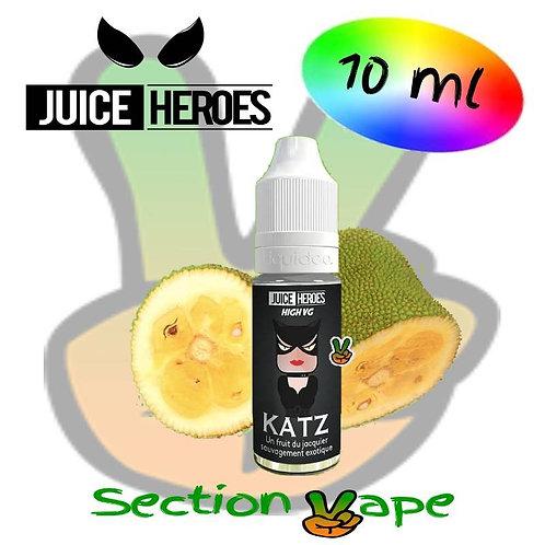 E liquide 10ml Katz, Juice Heroes
